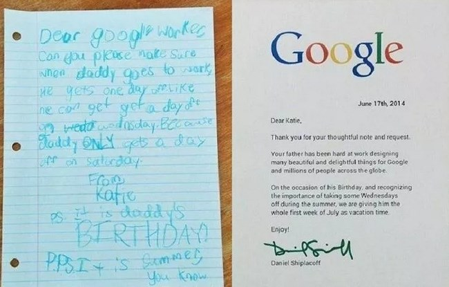 google-letter-father