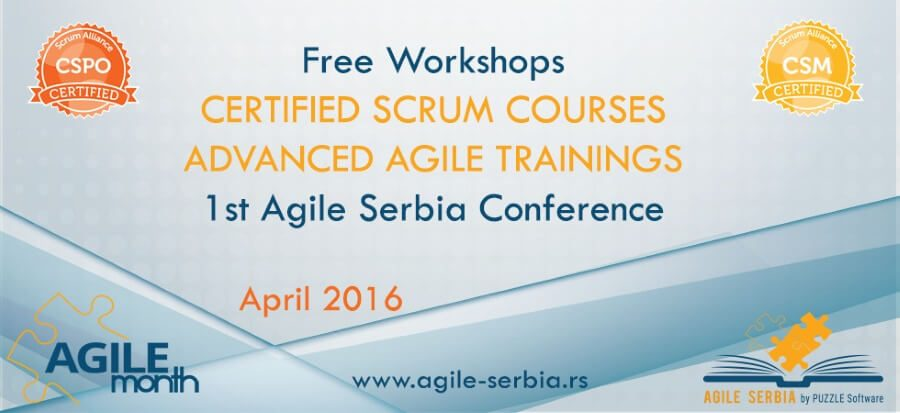 Incoming Agile Events
