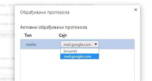 chrome open mailto gmail
