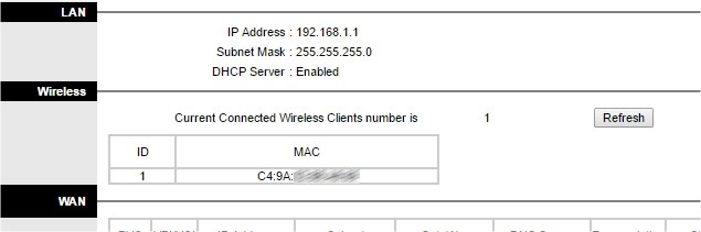 mac filtering wifi secure