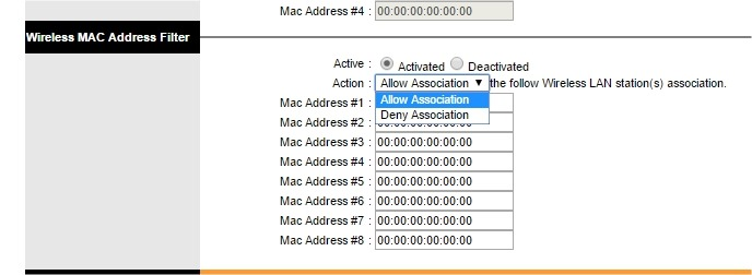 secure wifi mac filtering