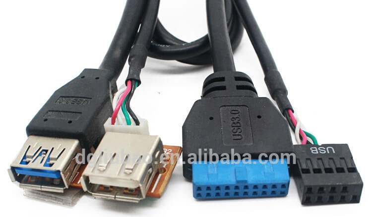 usb 2-0 and 3-0 front panel
