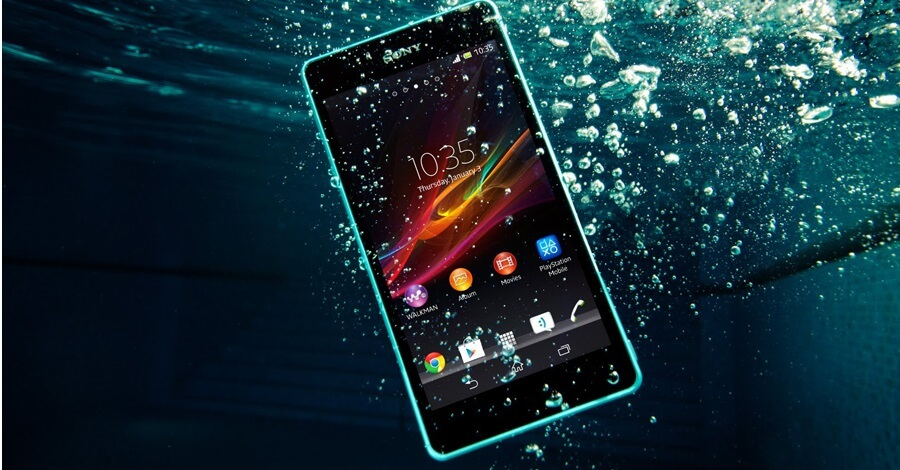 water proof phones sony xperia