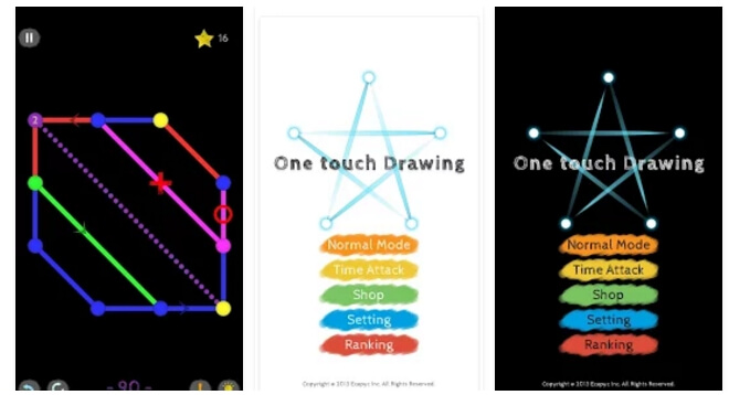 one-touch-driwing-android