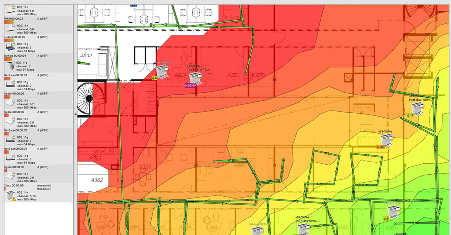 wifi heatmap how to