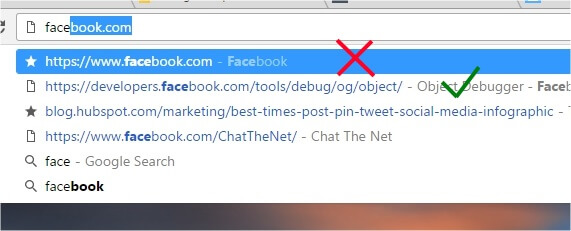 remove auto-suggestion url chrome firefox ie (2)