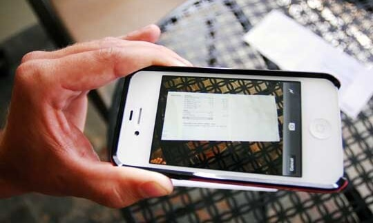 capture documents with phone